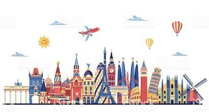 Travel Tourism Boards of different countries